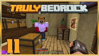 Truly Bedrock S0 EP11 : Foxys Bits !?... Not again!  [ Minecraft, MCPE ]