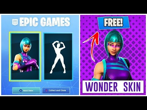 HOW TO GET THE WONDER SKIN FOR FREE IN FORTNITE | WONDER SKIN CODES