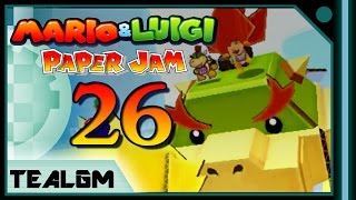 Mario & Luigi: Paper Jam Bros. - Part 26: Papercraft Bowser Jr Boss