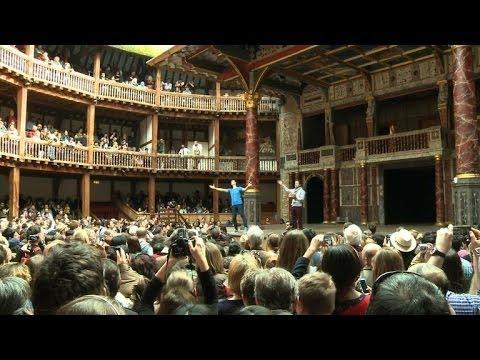 London's Globe Theatre to mark Shakespeare's birth