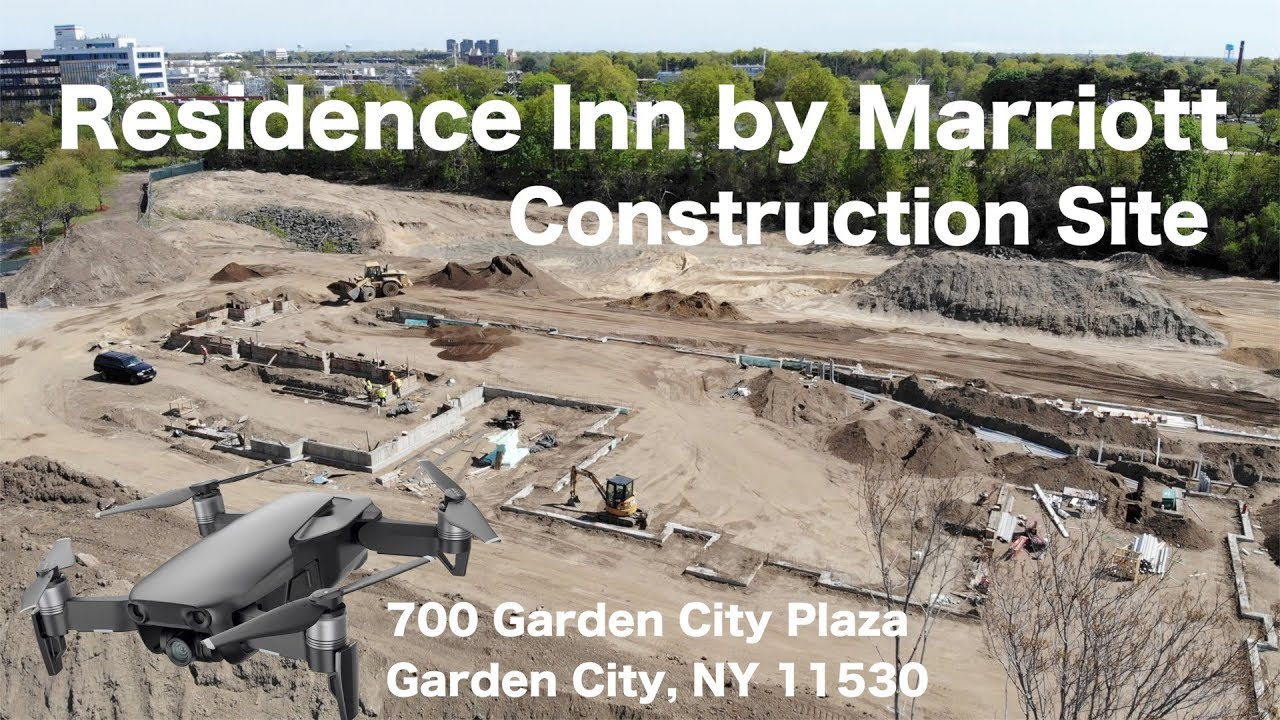 Construction site drone video 700 garden city plaza garden city ny may 2018 update youtube for 200 garden city plaza
