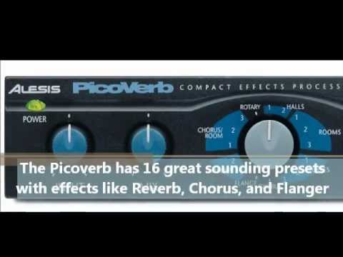 alesis picoverb digital effects processor youtube. Black Bedroom Furniture Sets. Home Design Ideas