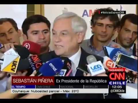 Sebastián Piñera se refirió a temas de inmigración