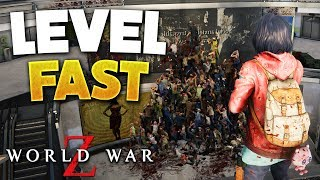World War Z - Best Way To Level Up Weapons (WWZ Game Tips)
