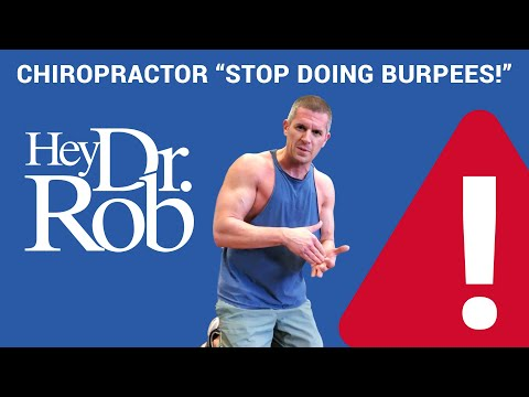 STOP Doing BURPEES!!! Burpee alternative that WON'T HARM your LOWER BACK!
