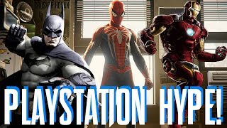 Spider-Man PS4, The Avengers Project, & Batman Arkham 2019 Featured in PlayStation: State of Play?!?