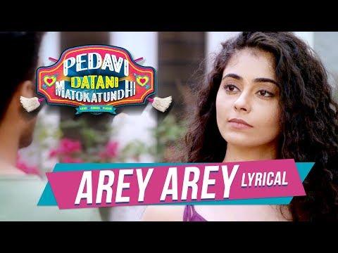 Arey Arey Lyrical Video Song - Pedavi Datani Matokatundhi | Ravan, PayalWadhwa, Dr.V.K, Moin