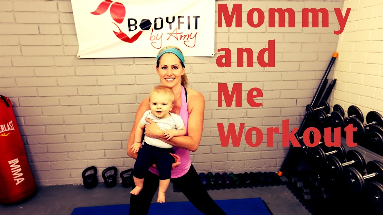 f509ec46338e 18 Minute Mommy and Me Full Workout---Workout to do with baby of any ...