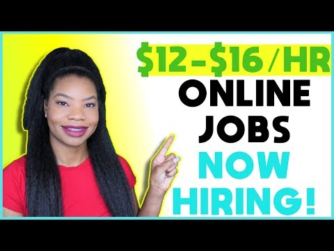 Work-From-Home Jobs. Paid Training. FREE Computer! | Online, Remote Work-At-Home Jobs January 2020