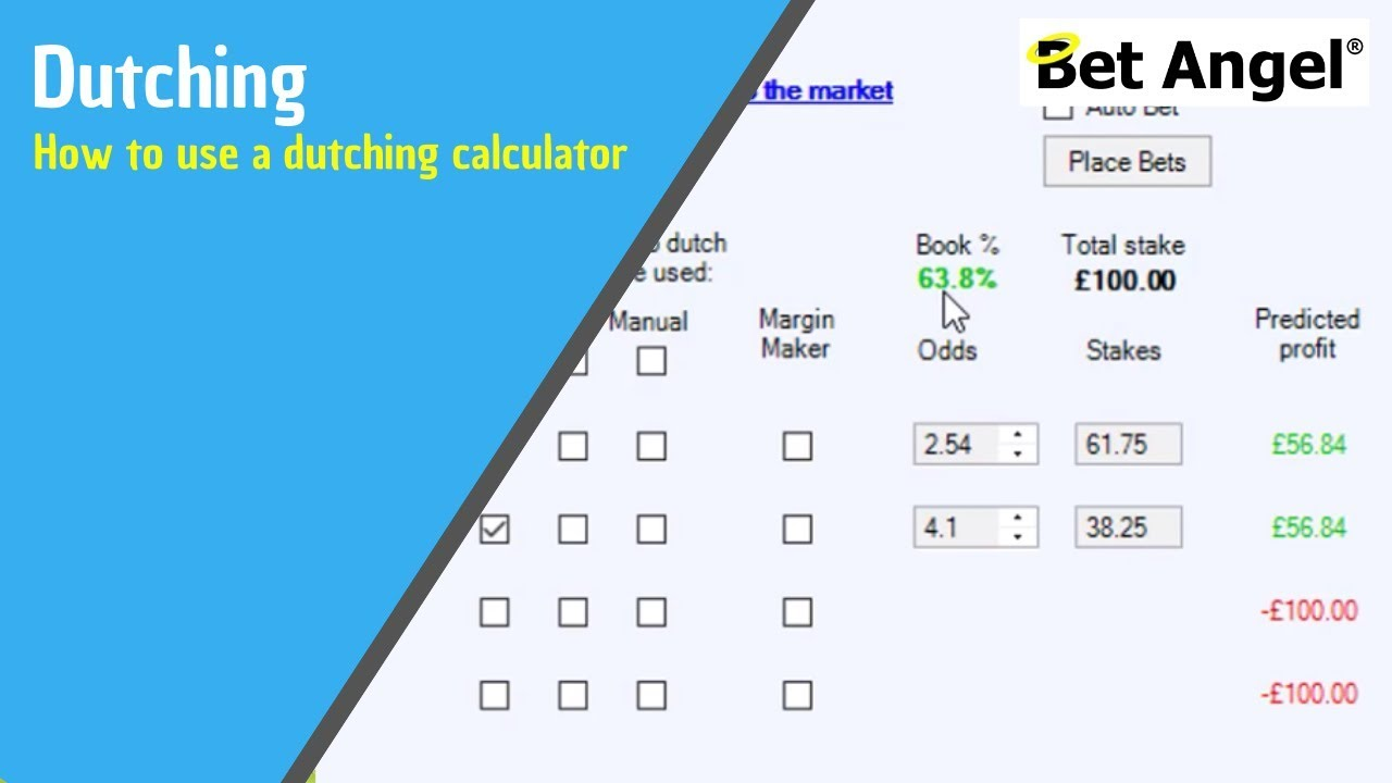 Dutch book betting calculator for football cryptocurrency wallet online store