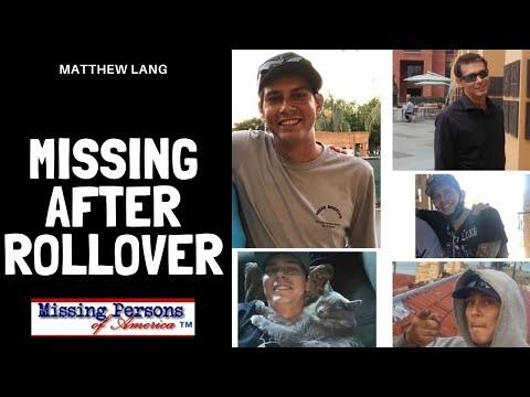 Matthew Lang missing from Oregon