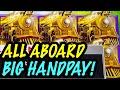 BIG JACKPOT! ALL ABOARD SLOT + 100 Wilds on Regal Riches Slot! #jackpot #handpay