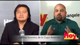 ¿Quienes son los favoritos en Copa América 2015?