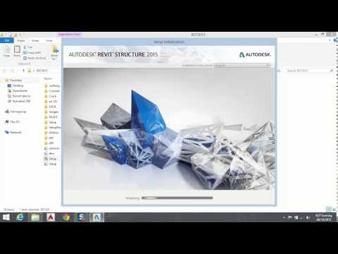 1.how to install Revit Structure 2015