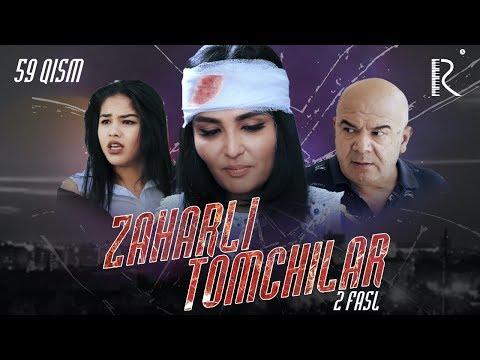 Zaharli Tomchilar (o'zbek Serial) | Захарли томчилар (узбек сериал) 59-qism