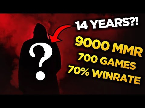 DEBIL = NEW MIRACLE? WTF! 9000 MMR | 700 Matches | 70% Winrate - 14 Years old?!