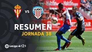 Resumen de Real Sporting vs CD Lugo (0-0)