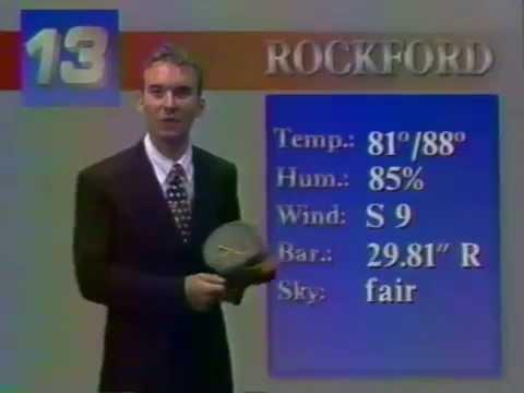 WREX 13 Eyewitness News 08/13/1995