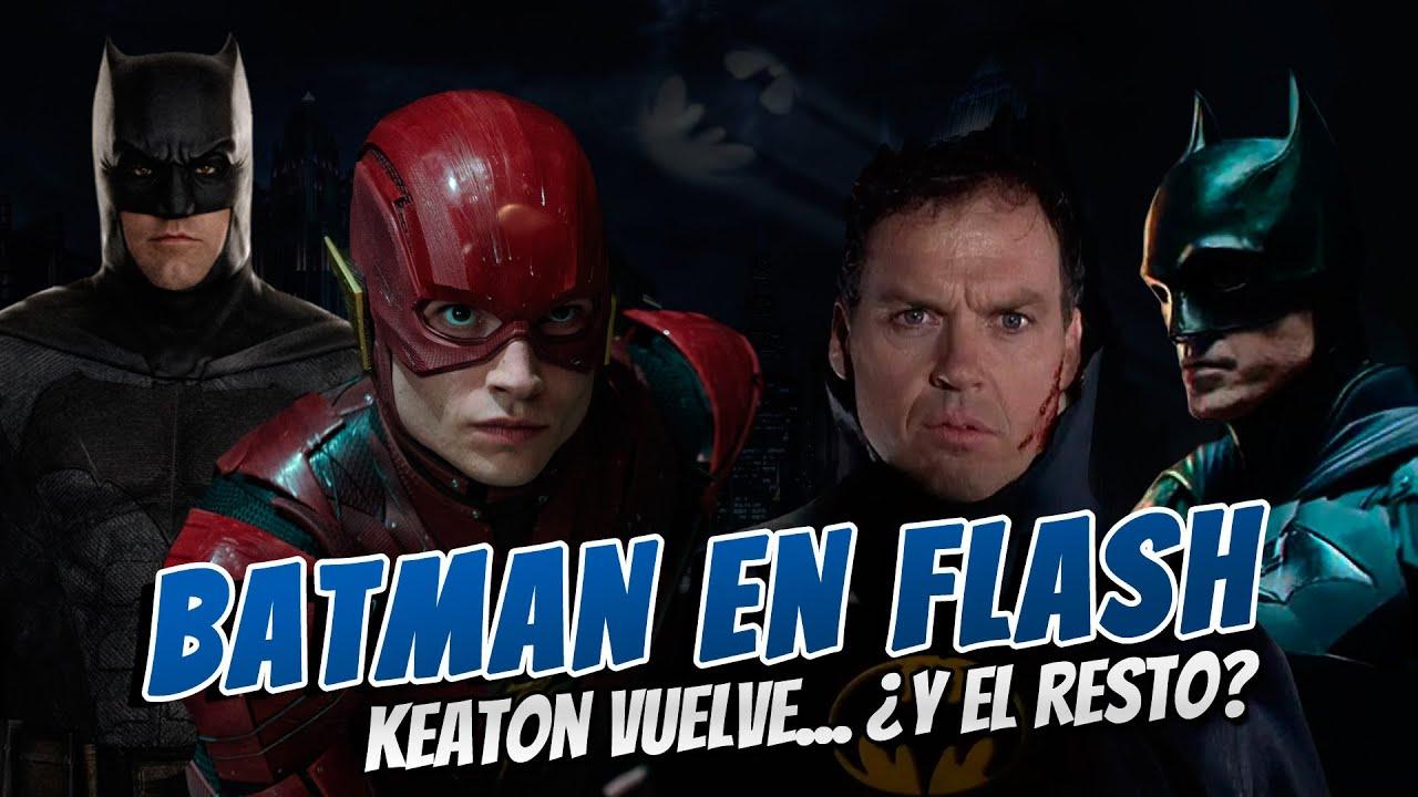 Batman en la película de Flash, ¿pero qué Batman? ¡Michael Keaton en negociaciones para regresar!
