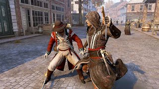 Assassin's Creed 3 Remastered - Master Assassin Aguilar Brutal Combat & Killing Spree Gameplay