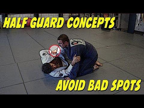 My thoughts about Jiu Jitsu half guard