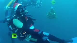 Шампанское и ёлка под водой: дайверы в Казани встречают Новый год(, 2018-12-30T17:47:26.000Z)