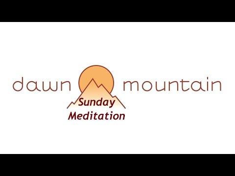 Sunday Meditation with Harvey 10/20/19