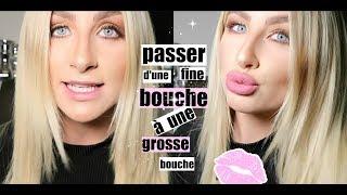COMMENT PASSER D'UNE FINE BOUCHE À UNE GROSSE BOUCHE EN 2MIN. - Justine Francotte