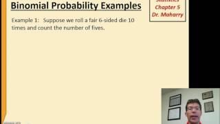 Video Math1313 chapter 5 Binomial examples download MP3, 3GP, MP4, WEBM, AVI, FLV November 2017