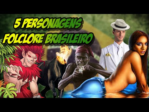 TOP FIVE - 5 PERSONAGENS DO FOLCLORE BRASILEIRO