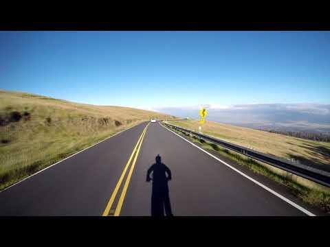 Maui volcano mountain bike downhill ride