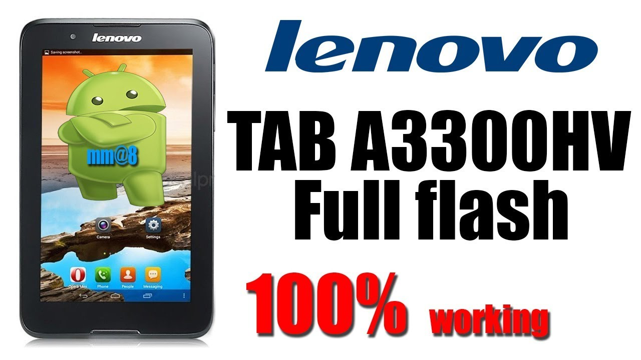 lenovo tab A3300HV full flash 100% working by mm@8