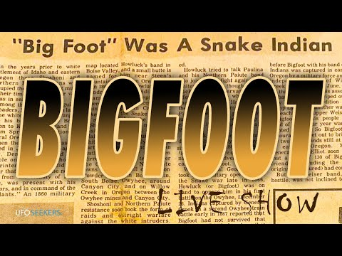 """LIVE SHOW: """"Big Foot"""" was a Snake Indian"""
