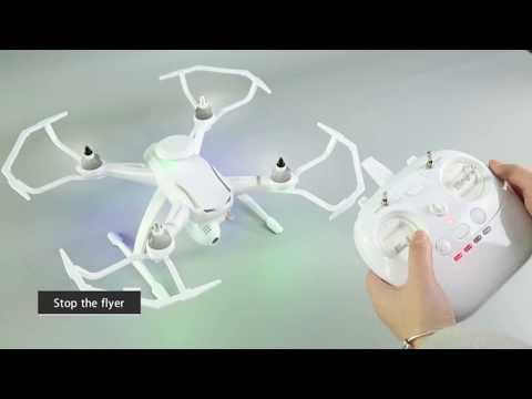Професионален дрон с GPS, Wi Fi, FULL HD камера (запис в реално време) CG035 26