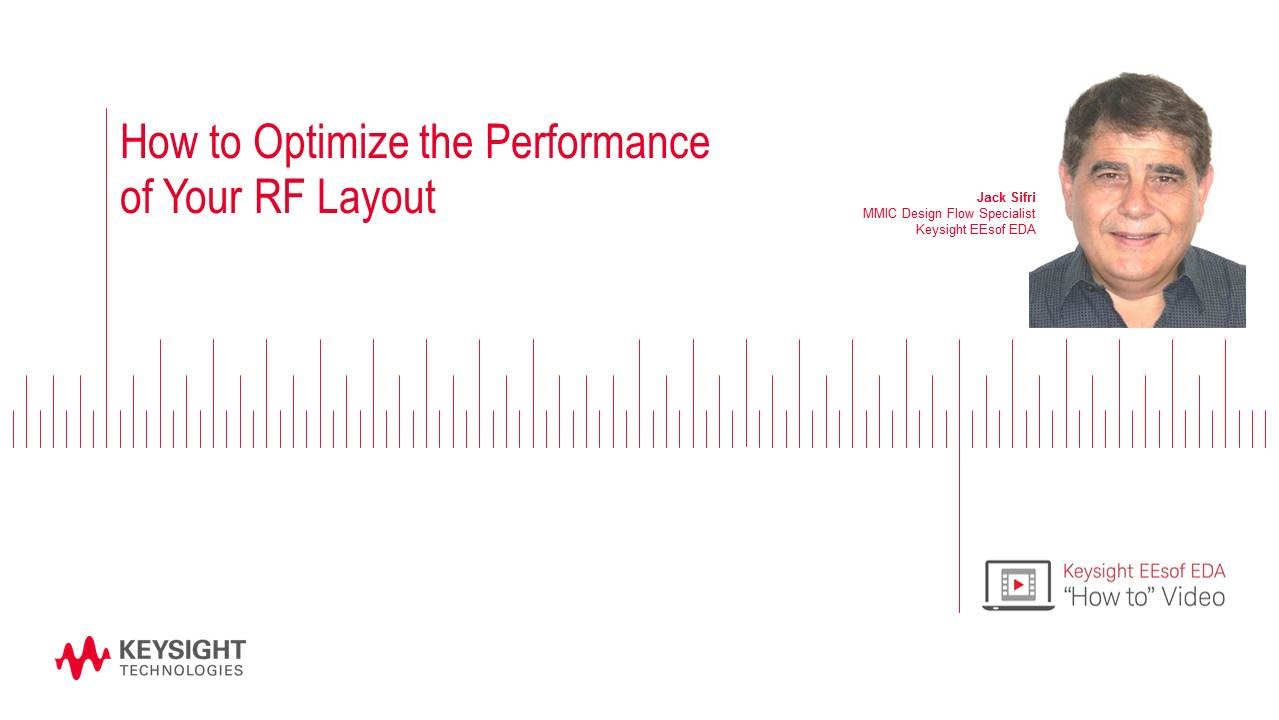 How To Optimize The Performance Of Your Rf Layout Youtube Optimizing Circuit