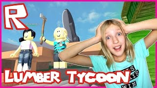 I Almost Lost My Axe in Roblox Lumber Tycoon