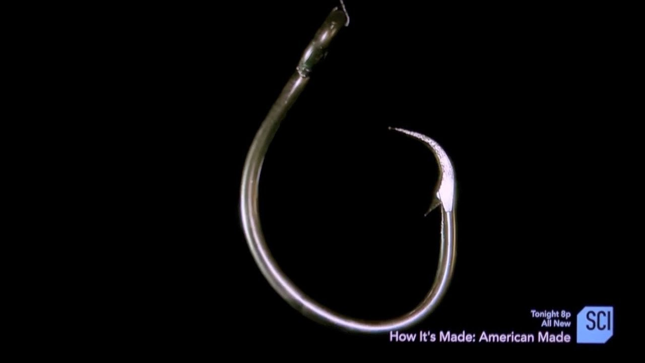 Mustad Hooks How It's Made
