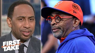 Stephen A. is contemplating never going to a Knicks game ever again | First Take
