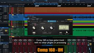 PreSonus Fat Channel Plug-in Demo: Comp 160
