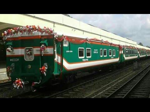 Kereta Api Buatan Indonesia Sudah Digunakan di Bangladesh