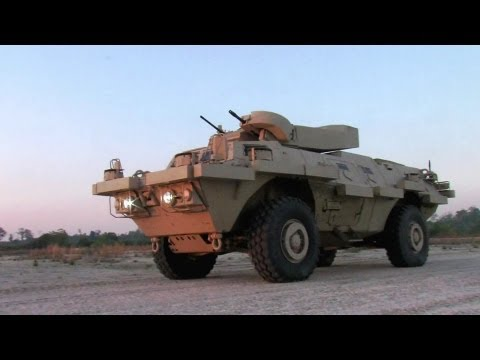 Textron Marine & Land Systems - COMMANDO Advanced, Select & Elite Armoured Vehicles [1080p]