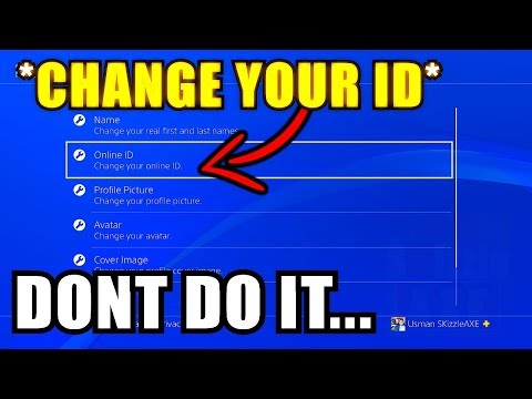 How to Change PSN ID Name (but seriously DONT, Here's Why) - How to change your PS4 gamertag