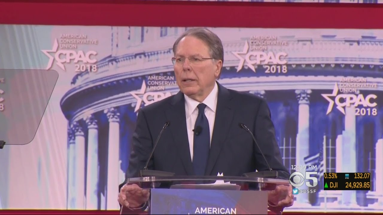 NRA Officials Make Bold Statements About Florida School Shooting At CPAC