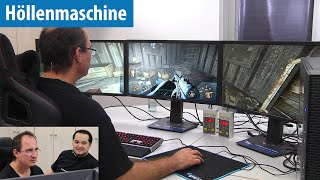 Fallout 4 mit 3 Monitoren in 12K auf der Höllenmaschine UVR | Let's Play | deutsch / german