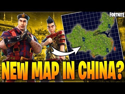 Fortnite Battle Royale - New Map In CHINA Coming Soon??