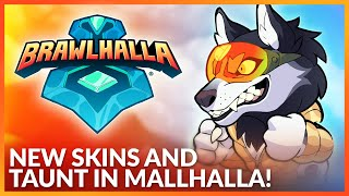 New Skins and Taunt coming to Malhalla! - Announcement Trailer