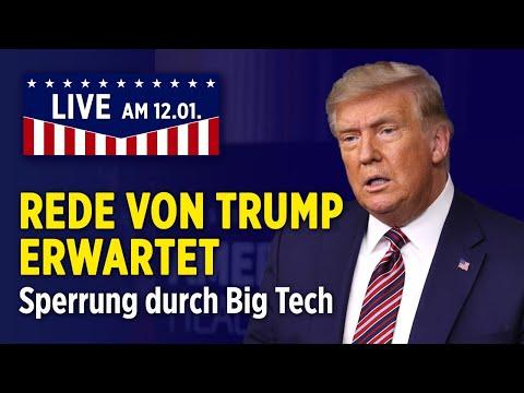 LIVE: Trump reist nach Alamo – Rede um 21.00 Uhr erwartet   12.1.2021