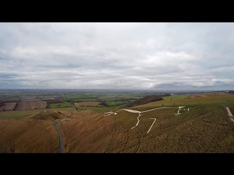 4K DRONE Footage over Oxfordshire   UK