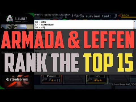 Armada and Leffen rank the MIOM top 15 - VLOG