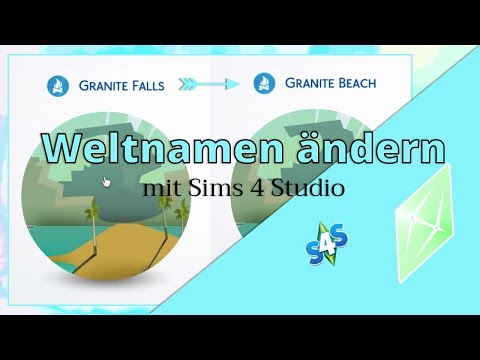 Tutorial: Rename worlds in the sims 4!
